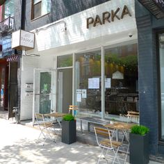 You can sit with us again! ☺️ 🎉.  Come join us on our small but cozy patio - just in time for the summer! ☀️ : [feat. cozy outdoor setting] : #parkafoodco #parka #vegan #vegansoftoronto #torontovegan #vegantoronto #blogTO #dailyhiveto #dishedto #narcitytoronto #curiocitytoronto #tastetoronto #tastethesix #foodtoronto #torontofood #to_finest #torontorestaurant #veganfood #torontoeats #veganfoodshare #plantbasedeats #vegancomfortfood #plantbasedgoodness #patioseason #patiodining Cozy Patio, Vegan Comfort Food, Downtown Toronto, Vegan Restaurants, Patio Dining, Outdoor Settings, Plant Based Recipes, Whole Food Recipes, Parka