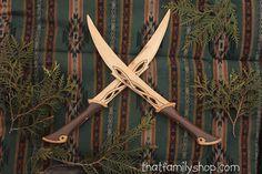 Lames bois réplique poignard couteaux épée par ImagineNationShop