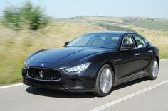 Maserati Ghibli (their first deisel): Max's car in A VIRGIN FOR HIS PRIZE