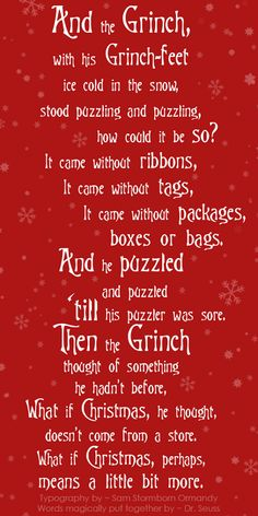 ~ From The Grinch who stole Christmas ~ ♥ ~ ★●★●❊●❉●❈●❄●★●★●★●❄●❈●❉●❊●★●★ #Christmas #TheGrinch