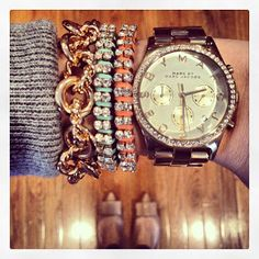 Arm candy! www.everydayfashionandfinance.com