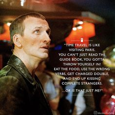 """22.2k Likes, 95 Comments - Doctor Who Official (@bbcdoctorwho) on Instagram: """"#TravelTuesday  #DoctorWho #whovian #ChristopherEccleston"""""""