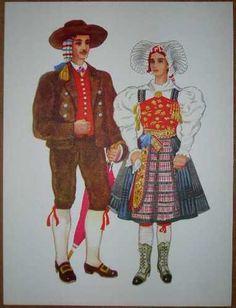 Slovenia Folk Costume Zilska Dolina Koroska