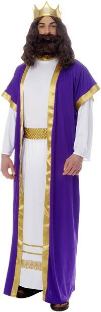 Biblical King Costume - Religious Costumes