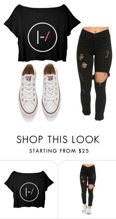"""Untitled #55"" by olivia-carlisle on Polyvore featuring Converse"