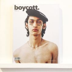 Boycott magazine from Paris is here. At ease. @boycottmagazine #boycottmagazine #fashion #style #ss17