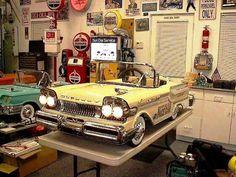 Beautiful 1958 Mercury Pedal Car