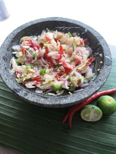 Sambal Matah recipe