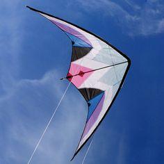 Decora il cielo con colori vivaci e acrobazie grazie alle sorprendenti prodezza dell'aquilone con ali a delta! Questo aquilone è composto da diverse aste in