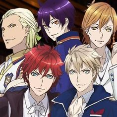 dance with devils - Pesquisa Google. In the end they all confessed in one way or another that they actually were in love with gir and can't wait to see her again.. it was sad but made me happy to just a little. l
