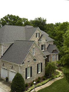 CertainTeed Landmark series in Driftwood Roof Shingle Colors, Roof Colors, House Colors, Driftwood Shingles, Roofing Options, Architectural Shingles, Roof Extension, Residential Roofing, Ranch Remodel
