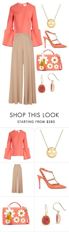 """""""Untitled #234"""" by blavckros3e ❤ liked on Polyvore featuring Roksanda, Jane Basch, The Row, Valentino and Mark Cross"""
