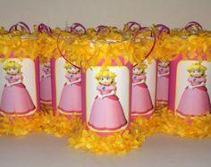 Loot Bags Yen Tolang Princess Peach Birthday Party Theme