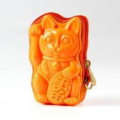 Also in black, yellow, brown, and khaki. Casual Maneki Neko 3D Coin Purse from #YesStyle <3 Adamo 3D Bag Original YesStyle.com