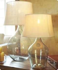 Clift Glass Table Lamp Base