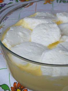Ízőrző: Madártej, hagyományosan Hungarian Desserts, Flan, Food Styling, Fudge, Mousse, Pudding, Recipes, Cakes, Kitchen