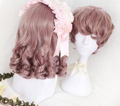 ★Couples wig★Roman rolls Couples lolita wig Lolita Hair, Gothic Lolita Dress, Kawaii Hairstyles, Cute Hairstyles, Cosplay Wigs, Anime Cosplay, Kawaii Wigs, Hair Reference, Anime Hair