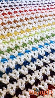 happiest blanket ever -- Free pattern