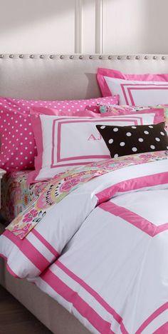 Suite organic bedding  #girls #bedrooms