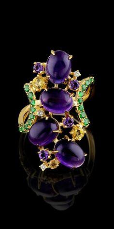 56163da07941 Master Exclusive Jewellery - Collection - Kaleidoscope  Фиолетовый  Украшения, Ювелирные Изделия Из Аметиста,