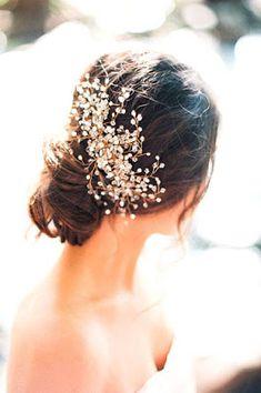 Peinados de novia recogidos ¡14 Bellas Tendencia en Moda! - Somos Novias