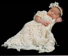 Kaitlyn's Blessing Dress Thread Crochet Pattern by SunsetCrochet, $4.95