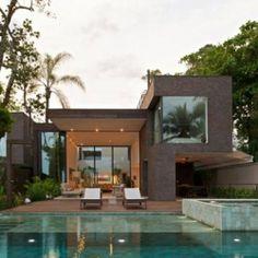 Modern Twin Residences in São Paulo Displaying Striking Design Features