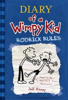 Rodrick is Gregg's older brother. Both of the boys remind me of my brothers when they argue.