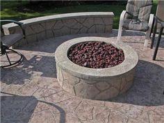 Outdoor Fire Pits  Artisticrete, LLC  Noblesville, IN