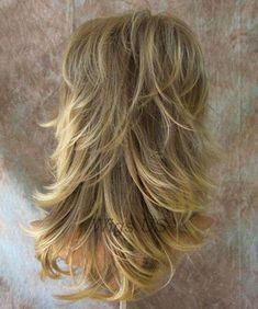 Long Wig Choppy Layers Lots of Motion Ash Blonde Lighter Tips Tarah Wigs US Long Shag Hairstyles, Long Shag Haircut, Long Layered Haircuts, Haircut For Thick Hair, Haircuts For Long Hair, Long Curly Hair, Long Hair Cuts, Layered Hairstyles, Choppy Layers For Long Hair