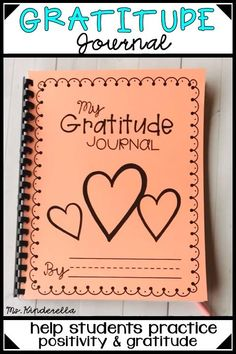 Primary Gratitude Writing Journal for Thankful and Positive Thinkers Journal Prompts For Kids, Gratitude Journal Prompts, Writing Prompts For Kids, Writing Activities, Journal Ideas, Kindergarten Writing Journals, Math Notebooks, Kindergarten Literacy, Fifth Grade Writing