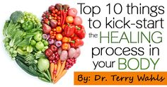 Top 10 Things to Kick-Start the Healing Process in your Body - Healthy Holistic Living