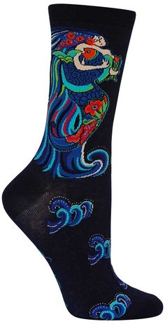 Laurel Burch | Dancing Mermaid Socks from The Sock Drawer
