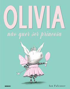 Ser princesa é a fantasia de todas as meninas. Todas? Não é bem assim. Que o diga a porquinha Olivia! Inquieta como sempre, e desta vez mais inconformada do que nunca, ela enfrenta uma crise de identidade infantil. Todas as suas amigas só querem saber de ser princesa, com vestido cor-de-rosa e varinha de condão. Olivia se pergunta: por que é que todo mundo tem de pensar do mesmo jeito, vestir as mesmas roupas, sonhar os mesmos sonhos? Ela queria ser diferente. Mas o que Olivia quer ser?