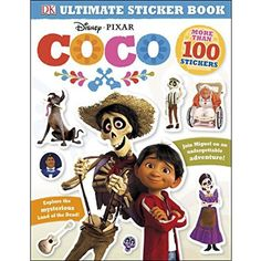 Ultimate Sticker Book Disney Coco Paper pack More Than 100 Cool Stickers 1465455744 | eBay