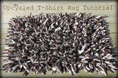 Upcycled Tshirt Rug