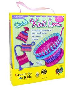 Creativity for Kids Quick Knit Loom - Teaches Beneficial Skills and Creativity - Easy to Use - For Ages 7 and Up, http://www.amazon.com/dp/B004JIFCXO/ref=cm_sw_r_pi_awdm_j9Ooxb0BW9MFB