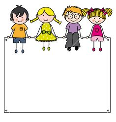 Cute cartoon kids frame vector - Cute cartoon kids frame vector Best Picture For kids jim carrey For Your Taste You are looking fo - Page Borders, Borders And Frames, Cartoon Kids, Cute Cartoon, Drawing For Kids, Art For Kids, School Border, Stick Figure Drawing, School Frame
