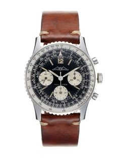 Breitling Stainless-Steel Navitimer (c. 1960s) by Vintage Watches on Park & Bond