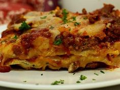 15 Best Lasagna Recipes - World's Best Lasagna Recipe. Best Lasagna Recipe, Homemade Lasagna, Lasagna Recipes, Meatball Recipes, I Love Food, Good Food, Yummy Food, Italian Dishes, Italian Recipes