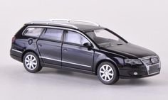 VW Passat Variant (B6), black , 2005, Model Car, Ready-made, Wiking 1:87 $2.99 (save $13.01)
