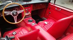 Austin Austin Healey Mkiii 3000 1967 Garagem Retrô - R$ 390.000,00 em Mercado Libre