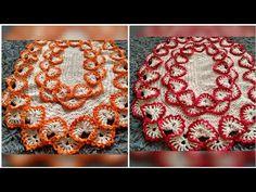 Tapete Oval De Crochê Barrado Duplo/ Tutorial Passo a Passo - YouTube Crochet Tablecloth, Bird Pictures, Crochet Videos, Table Toppers, Crochet Flowers, Doilies, Floor Rugs, Diy And Crafts, Crochet Earrings