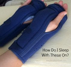 carpal tunnel syndrome-night wrist support braces #NaturesSleep