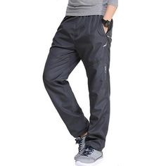 36cf5c1df55 Men Outside Active waterproof Pants Men s Exercise Quick Dry Casual Pants  Full Length Men Trousers  amp