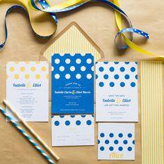 Dotty Wedding Invitations