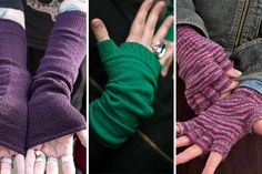 This week on the Sock Journal: Arm Warmers - A Disambiguation. Just what is a sleeve, vs an arm warmer, vs a fingerless glove? Find out here!