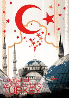 Turkey world culture capital poster by ~Lithiumist