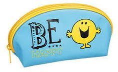 Mr Men Mr Happy 'Be Happy' Pencil Case