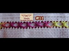 Plastic Canvas Stitches, U Tube, Embroidery Designs, Beaded Jewelry, Crochet Hats, Creative, Asa Delta, Tape Art, Hand Embroidery Stitches